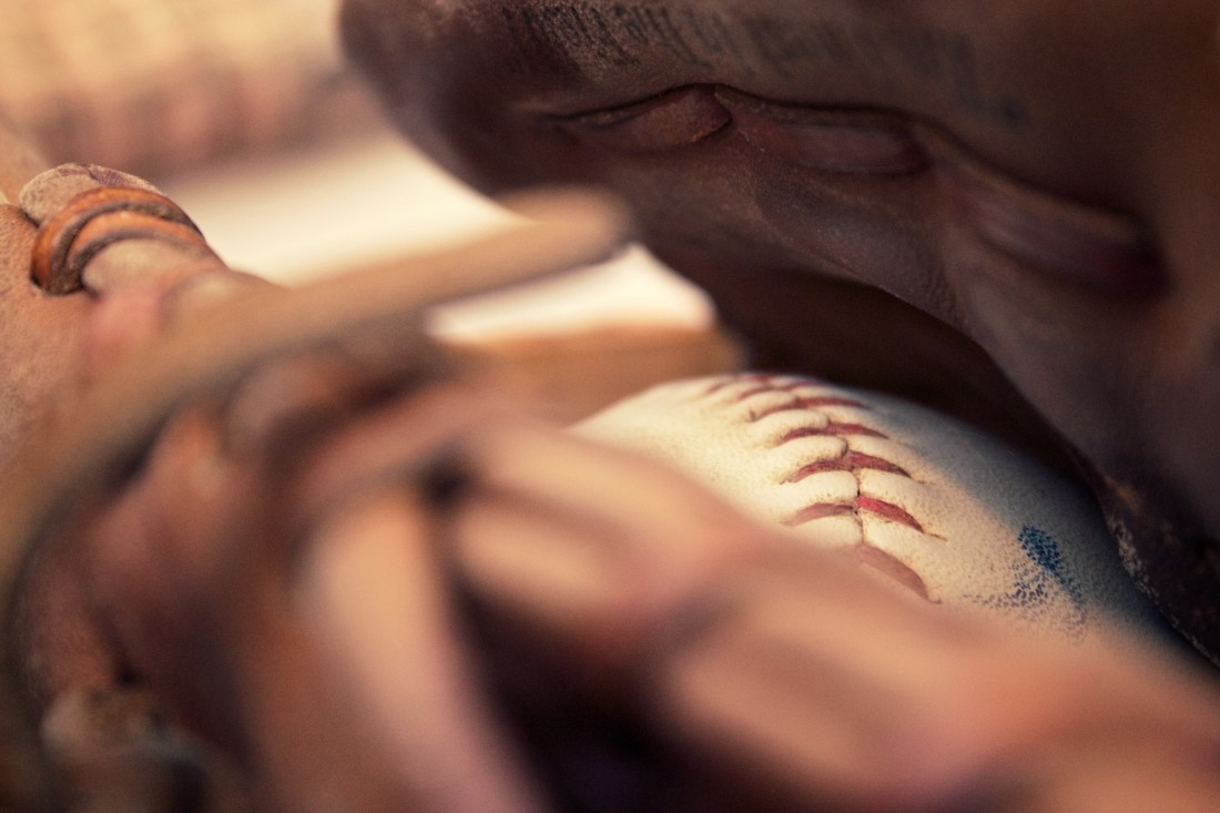 Baseball Glove & Ball